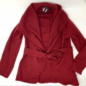 BCBG Maxazria Cardigan 100% Merino Wool Size M